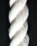 Twisted Cotton Blend, White